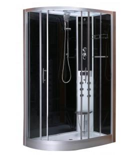 Masážní sprchový kout CL121 Vario pravá verze 80x120x215