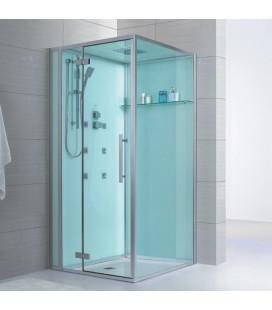 Sprchový masážní box EAGO D989 levá verze bez vaničky 100x100x235