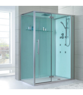 Sprchový masážní box EAGO D991 pravá verze bez vaničky 150x90x235