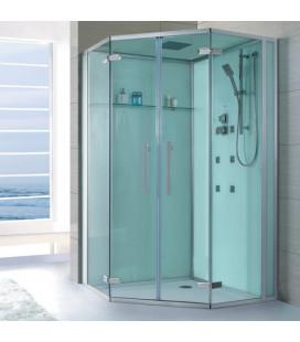 Sprchový masážní box EAGO D993 bez vaničky 120x120x235