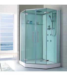 Sprchový masážní box EAGO D993 s vaničkou 120x120x235